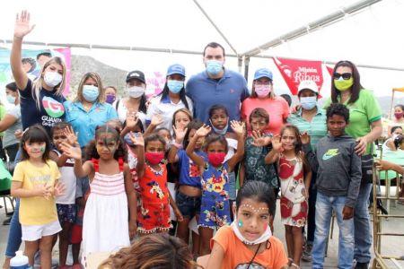 Fundación El Niño Simón Anzoátegui desplegada en atención a los más vulnerables