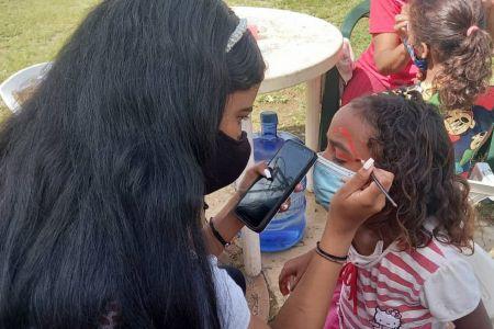 Recreación para más de 300 niños, niñas y adolescentes de Ciudad Caribia en Jornada de Atención Integral