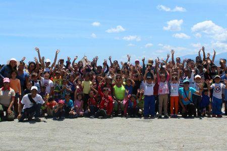 """Guariqueñitos brillaron de alegría bajo el sol de """"Playa Delfín"""""""