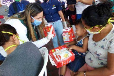 Fundación El Niño Simón Lara brinda atención a más de 220 larenses en cuarentena social