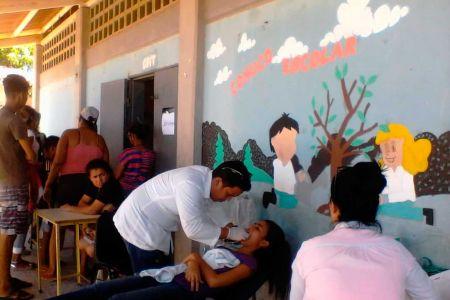 398 neoespartanos recibieron  atención médica integral con el programa