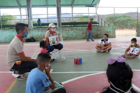 Equipo Niño Simón Guárico garantizó recreación a niños y niñas en sus comunidades