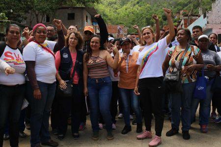"""Fnns presente en abordaje de """"Atención a las Víctimas de la Guerra Económica"""" en Valle Alegre parroquia La Vega"""