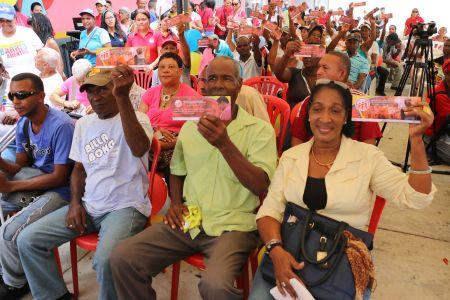Otorgadas 97 nuevas pensiones para adultas y adultos mayores en Jornada de atención Integral en Curiepe