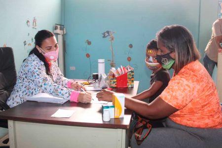 Jornada Médica Integral en la Fundación El Niño Simón de Roscio Nieves en Guárico