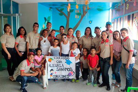 """Realizada jornada """"Educando con Alegría, Sanamos Corazones"""" dirigido a pacientes pediátricos"""