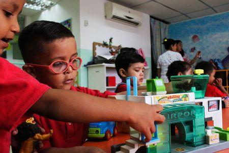 """Niños y niñas del Endei """"Negra Matea"""" en la Fnns regresaron a las aulas para el inicio del año escolar 2019-2020"""
