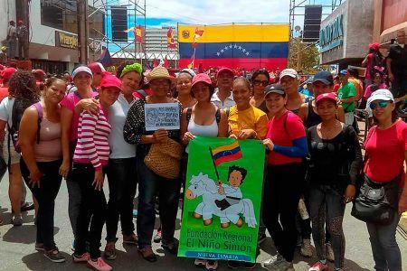 Frns-Nueva Esparta dice presente en la gran marcha popular en rechazo al informe presentado por Bachelet