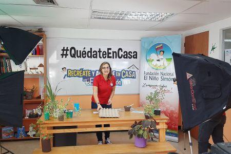 """Fnns lanza a través de las redes sociales programa """"Recréate y Aprende en Casa con El Niño Simón"""""""