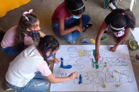 """Arrancó el Plan Vacacional 2021 """"Héroes y Heroínas de la Patria"""" en las Casas de los Niños de la Fnns"""