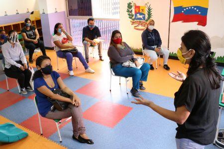 Preescolares de la Fnns abren sus puertas a padres y representantes para la orientación pedagógica