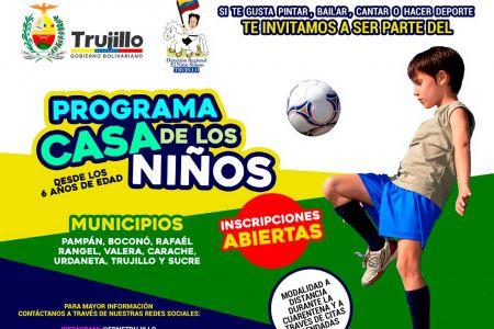 """Fundación Regional """"El Niño Simón"""" inicia inscripciones para el programa Casa de los Niños"""
