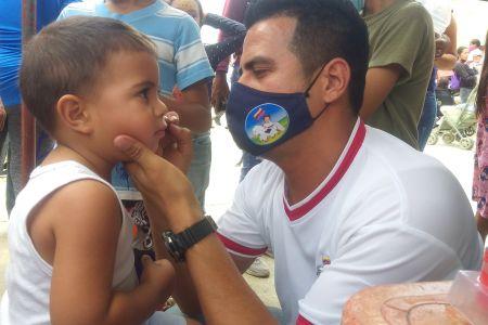 Más de 1000 niños y niñas  fueron beneficiados en jornada de atención integral en el municipio Andrés Eloy Blanco