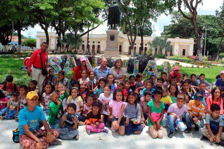 Pequeños disfrutaron jornada de cierre de Guárico Te Recrea