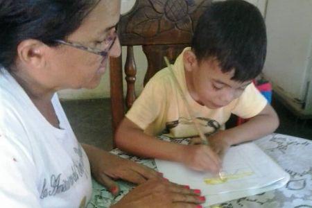 Preescolares El Niño Simón en Guárico activos con el Plan Cada Familia una escuela
