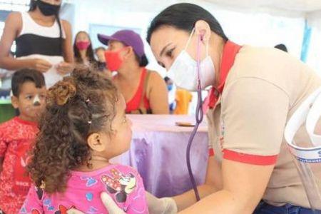 Más 300 niños y niñas de Tigüigue recibieron atención médica preventiva