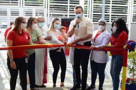 """Inaugurada  nueva aula hospitalaria de la Fundación El Niño Simón en el hospital """"Darío Vivas"""" del Ivss en el estado Guárico"""
