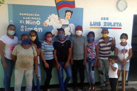 Servidores de Niño Simón Zulia se suman al Plan Nacional de Desinfección contra el COVID-19