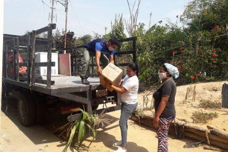 """Fnns garantizando la continuidad del servicio de alimentación de las Casas de los Niños dotó de implementos técnicos y alimenticios a CDN """"Cúpira"""""""