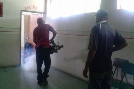 Casa De los Niños Don Pío Alvarado fue beneficiada con el plan de fumigación