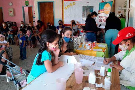 Gran Operativo Nutricional beneficia a más de 100 niñas y niños del sector La Milagrosa