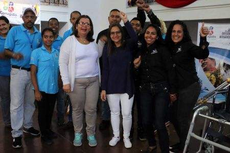 Gobierno Bolivariano dignifica a personas con discapacidad con la entrega de 258 ayudas técnicas a niños y adultos en Caracas